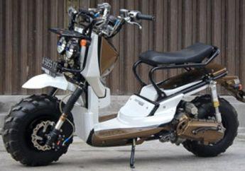 Honda Scoopy, Zoomer Kaki Traktor