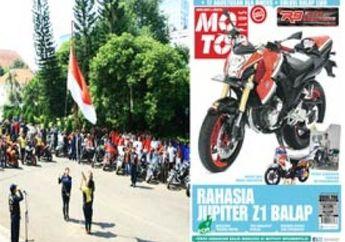 Upacara HUT RI ala Bikers, Mio Soul Radiator dan Solusi Balap Liar Thailand