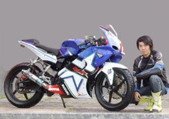 Suzuki Thunder 125, Comot Full Fairing M1 Biar Beda