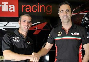 WSBK : Marco Melandri Resmi Bergabung Dengan Tim Aprilia Racing