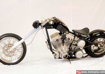 Modifikasi : TP Engineering 2000 cc vs HD Evolution 1.340 cc Twin The Chopper, Swedish Style