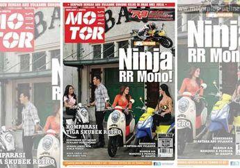 First Ride Ninja 250RR Mono, Komparasi Skubek Retro & Tips Berkendara Diantara Abu Vulkanik