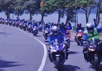 Sambut Kemeriahan HUT RI ke-69, Yamaha Gelar Turing Merdeka R25 Bali – Solo
