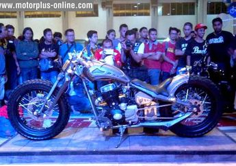 Nih Dia Motor Juara Cleveland Custom Bike Build Off Kustomfest 2014