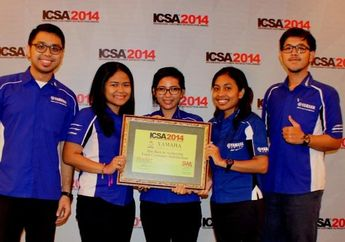 Sport Yamaha dan Yamalube Raih Indonesia Customer Satisfaction Award (ICSA) 2014