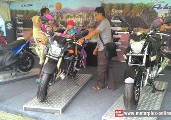 Suzuki Inazuma dan Satria F-150 Diminati Pengunjung