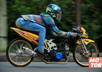 Modifikasi Honda Supra X 125 Jagoan Balap Malam dan Kontes Bro!