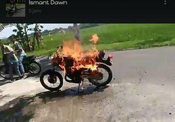 Yamaha RX-King Terbakar!