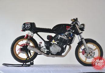 Kawasaki Ninja 250 Cafe Racer Ala Bos Variasi