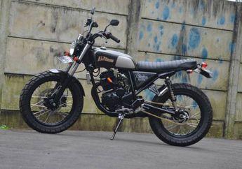 Yamaha Scorpio Modif Street Tracker Simpel Untuk Harian