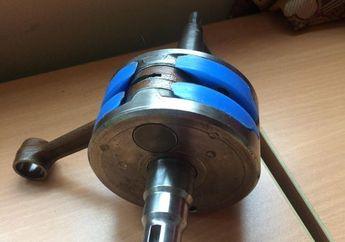 Kail Kompresi Primer 2-Tak Kuat Menggunakan Aluminium Cor di Bandul Kruk-As