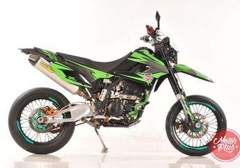 Modifikasi Kawasaki D-Tracker 250 2013 (Jakarta)  Kena Virus Sumo dan Enak Diajak  Ngantor
