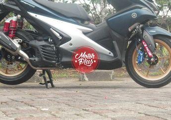 Subsitusi Pelek Racing Boy Yamaha NMAX Ke Yamaha Aerox