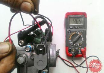 Deteksi TPS Ninja 250 FI Rusak