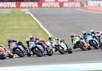Latihan Resmi Kedua MotoGP Le Mans Prancis Disambut Hujan Deras