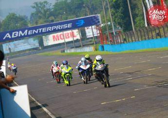 Rafid Topan Tercepat di Sesi Kualifikasi Kejurnas Sport 150 cc