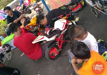 Road Race Wonosobo Buka Kelas MiniGP