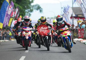 Hasil Lomba Road Race Wonosobo