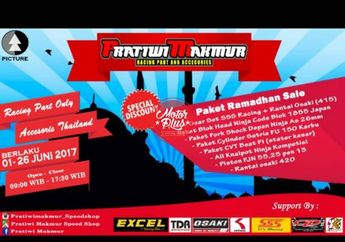 Pratiwi Makmur Speed Shop Solo Kasih Diskon Jelang Ramadhan 2017