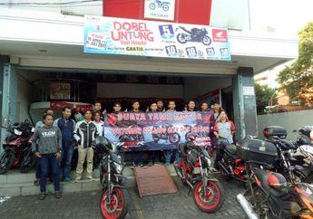 Komunitas CB150R Surabaya Turing Dan Buka Puasa Bersama