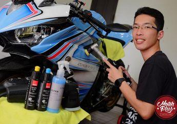Spesialis Detailing Motor & Helm Kualitas Oke Harga Terjangkau