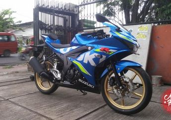 GSX-R150 Makin Racing Look