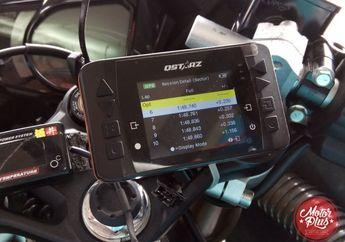Data Logger Di Motor Balap  Bisa Koreksi Kesalahan Pembalap
