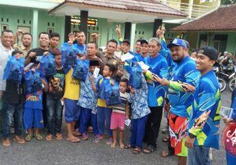 Offroader Motor Berbagi Rejeki di Kota Banjar