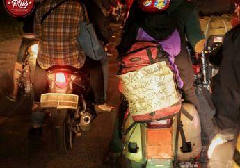Biar Jelek Bisa Mudik Coy, Begitu Kata Pemilik Vespa PX yang Mau Mudik Dari Tangerang Ke Brebes