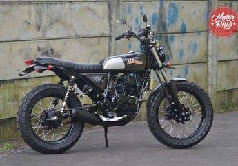 Modifikasi Yamaha Scorpio, Bangga Kesederhanaan dengan Kustom Kultur