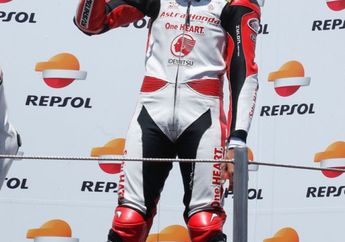 Dimas Ekky Rajin Latihan Jelang Balap CEV Moto2 Valencia