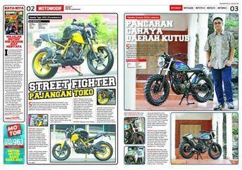 Modifikasi Yamaha Scorpio 2008 Jadi Scrambler, Sebut saja Aurora!
