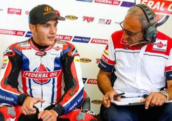 Jorge Navarro Perpanjang dengan Oli Indonesia untuk Moto2