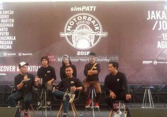 SimPATIK Motorbaik Adventure 2016, 9 Selebrity Turing Jakarta-Jogja