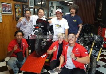 AHM Gelar Honda Dream Ride Project Untuk Modifikasi All New Honda CBR250RR