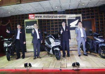 AHM Luncurkan Honda New PCX 150 dan New Honda Vario 150