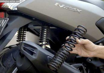 Pakai Sokbreker Belakang Honda Supra Supaya Ajurtan Yamaha NMAX Mantap