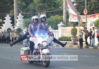 Ditlantas Polda Jabar Menggelar Safety Riding Di Mapolres Cirebon