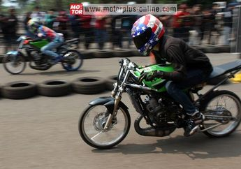 Hasil Lomba Drag Bike 201M Sumber Production Championship Cimahi Bandung