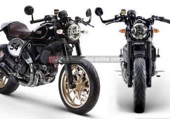 Hadir Ducati Scrambler Bergaya Cafe Racer