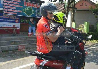 Mendadak Gubernur Jawa Tengah Ganjar Pranowo Minta Dibonceng Yamaha NMAX?