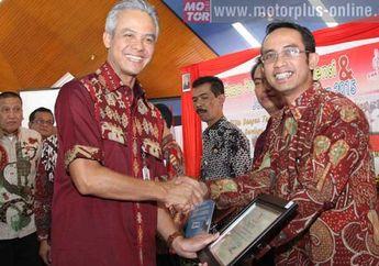 Gubernur Jateng Kasih Penghargaan ke AHM