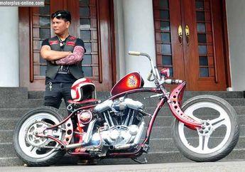 Modifikasi H-D Sportster 1200cc 1997 Bandung, Welcome Back Ol Skool Choppa!