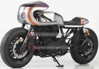 Bodi Dan Rangka Ubah Total Bikin Harley-Davidson Sporster 883 Jadi Cafe Racer (2-Abis)