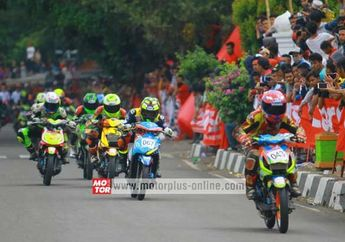 Hasil Lomba Road Race Pandeglang, Banten