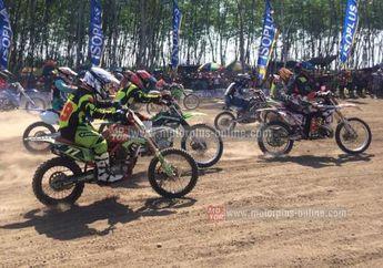 Hasil Balap Motocross dan Grasstrack Kediri