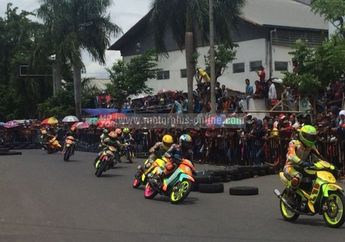 Hasil Lomba Road Race Pamekasan Jawa Timur, Pelaksanaan Diatur Ulang