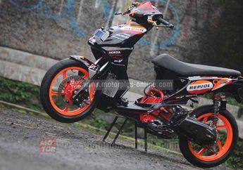 Modifikasi Honda BeAT Road Race