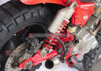 Modifikasi Kaki-Kaki Honda CRF 230 Adventure Klasik