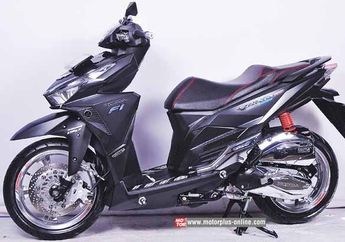 Modifikasi Honda Vario 150 eSP Simple Raih Juara